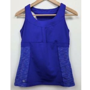 ATHLETA Space Dye PR Tank 2 Top Racerback Yoga